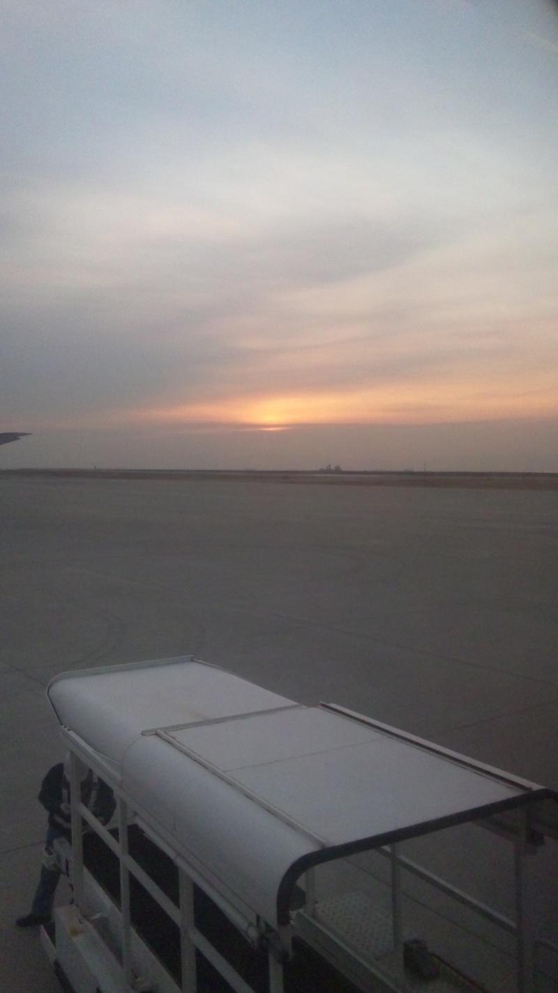 神戸空港の朝